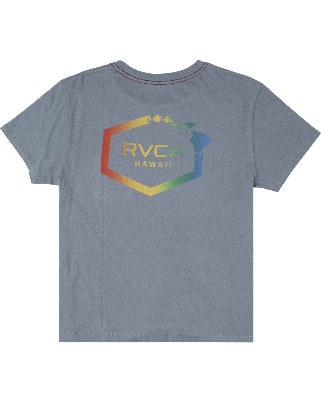 7 ISLAND HEX SHORT SLEEVE TEE Multicolor AVJZT00147 RVCA