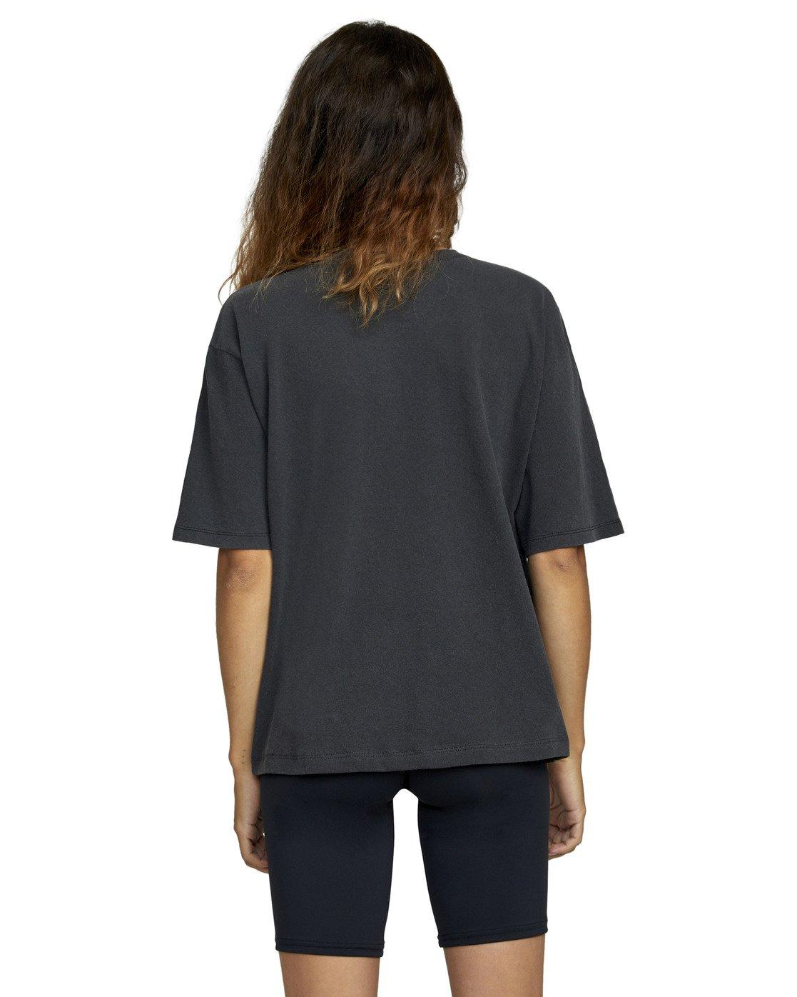 1 Big RVCA Short Sleeve Tee Black AVJZT00248 RVCA
