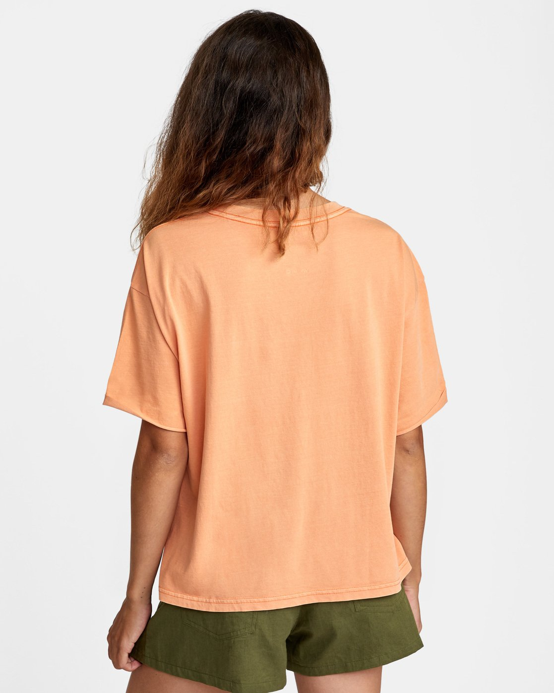 1 PTC Roll It Short Sleeve Tee Orange AVJZT00276 RVCA