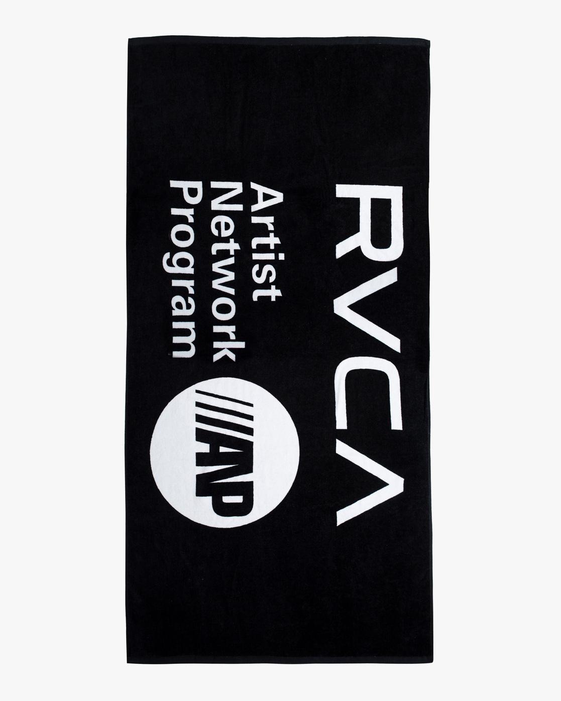 1 ANP Towel Black AVYAA00106 RVCA