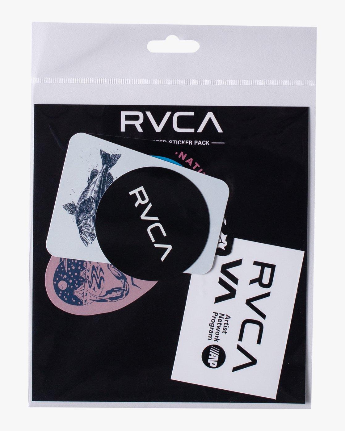 0 ANP Sticker 6 Pack I Grey AVYAA00159 RVCA