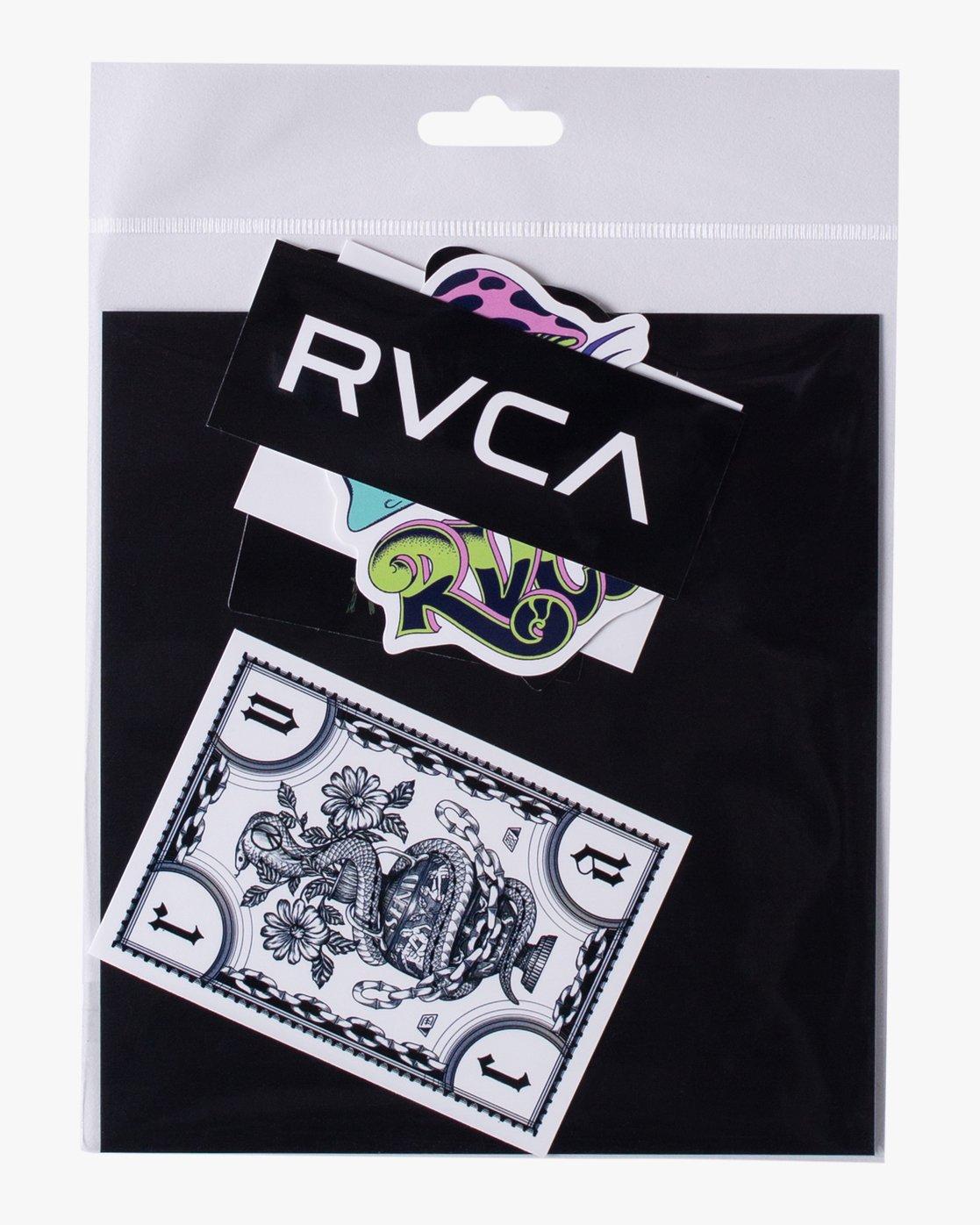 1 ANP Sticker 6 Pack II Grey AVYAA00160 RVCA