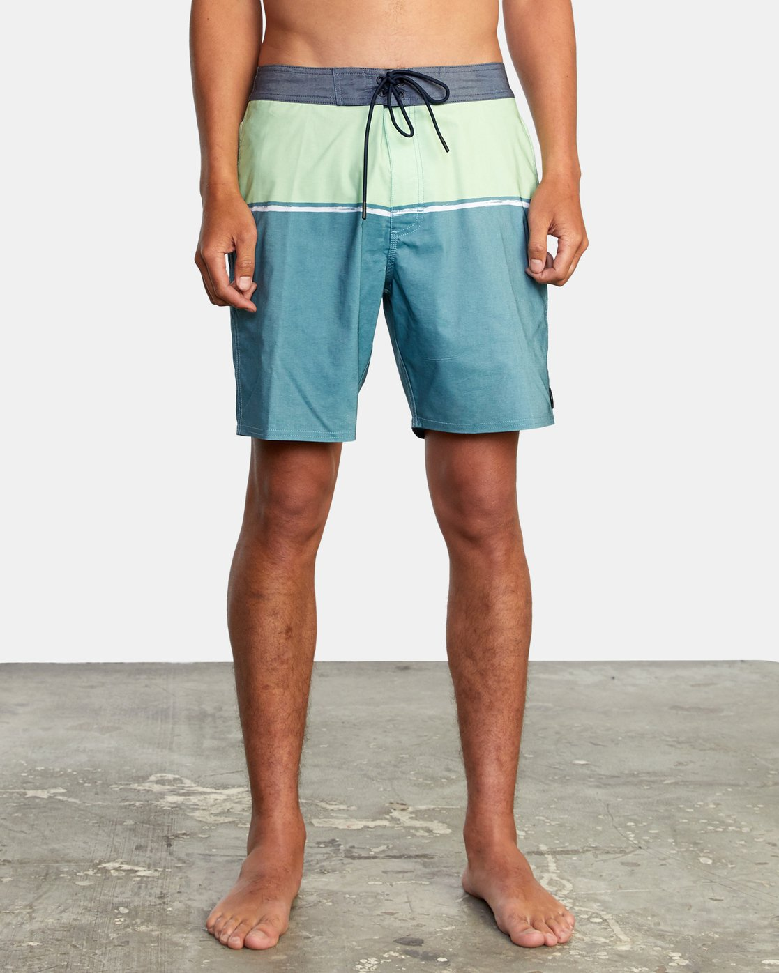 "1 COUNTY BOARDSHORT 18"" Blue AVYBS00120 RVCA"