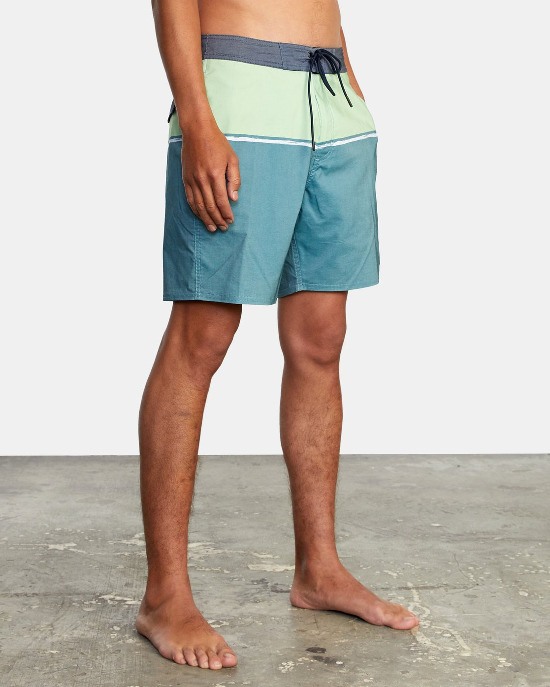 "4 COUNTY BOARDSHORT 18"" Blue AVYBS00120 RVCA"