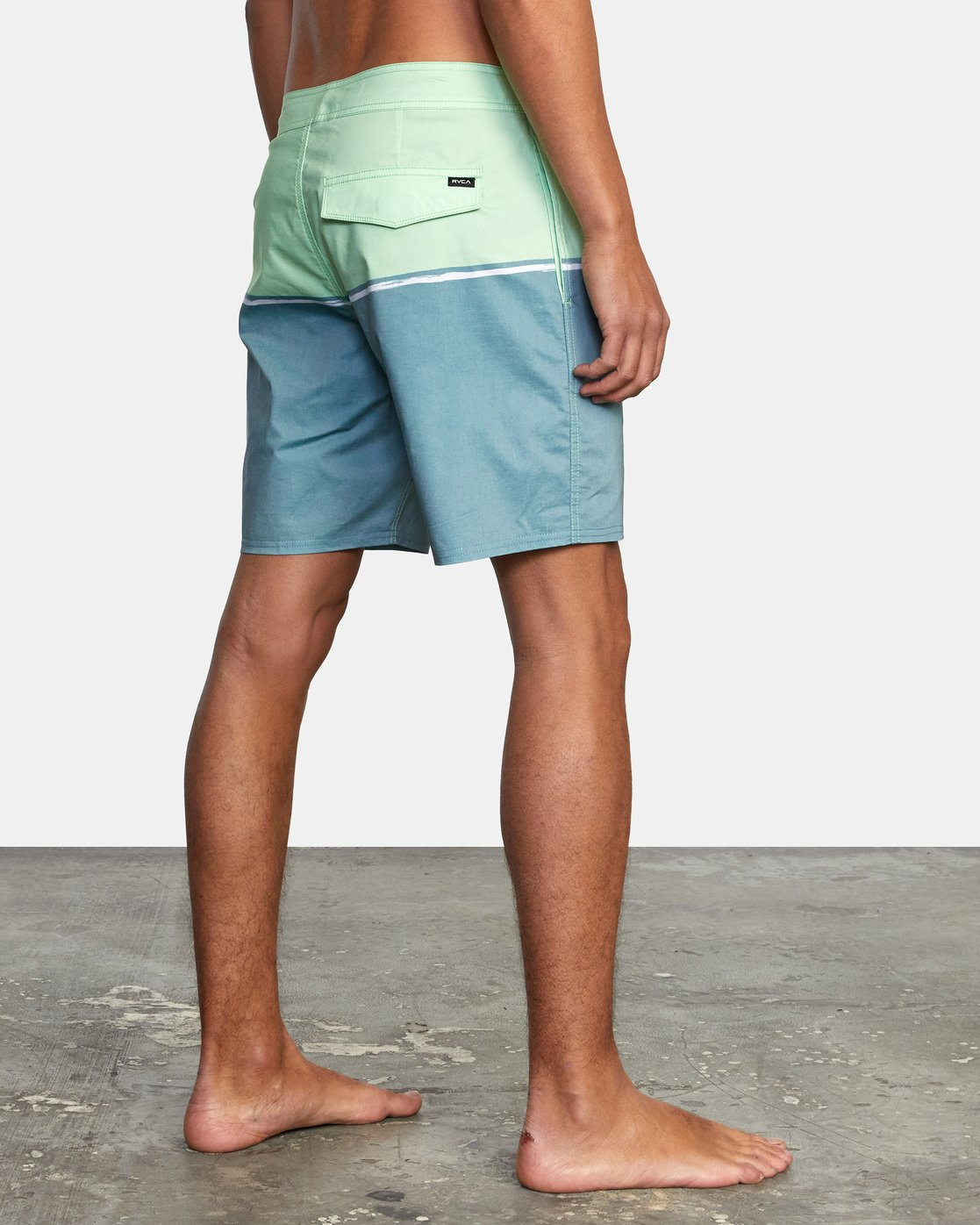 "5 COUNTY BOARDSHORT 18"" Blue AVYBS00120 RVCA"