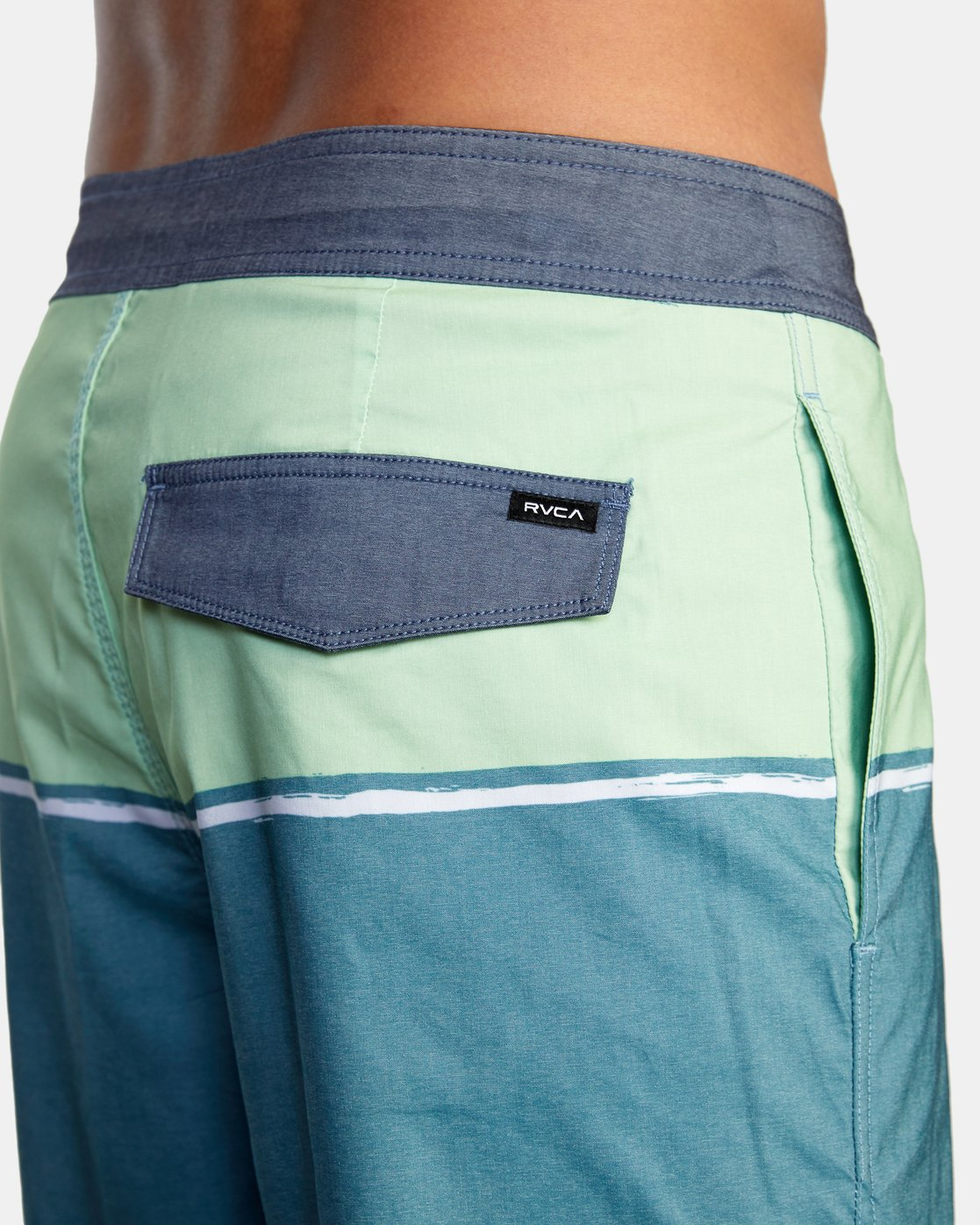 "6 COUNTY BOARDSHORT 18"" Blue AVYBS00120 RVCA"