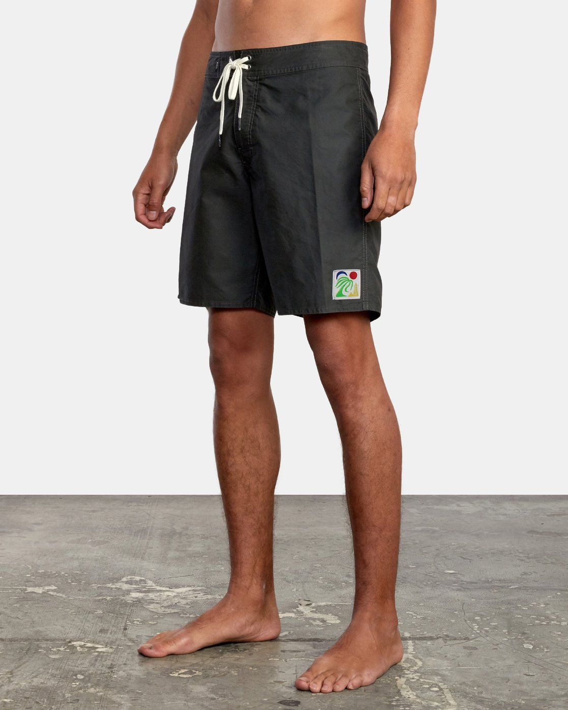 "4 ELDER BOARDSHORT 18"" Black AVYBS00124 RVCA"