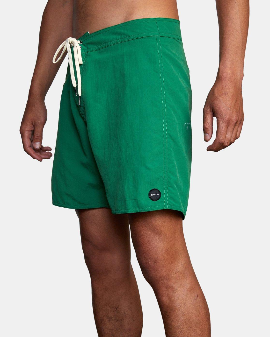 "5 Stanton Boardshort 17"" Green AVYBS00145 RVCA"