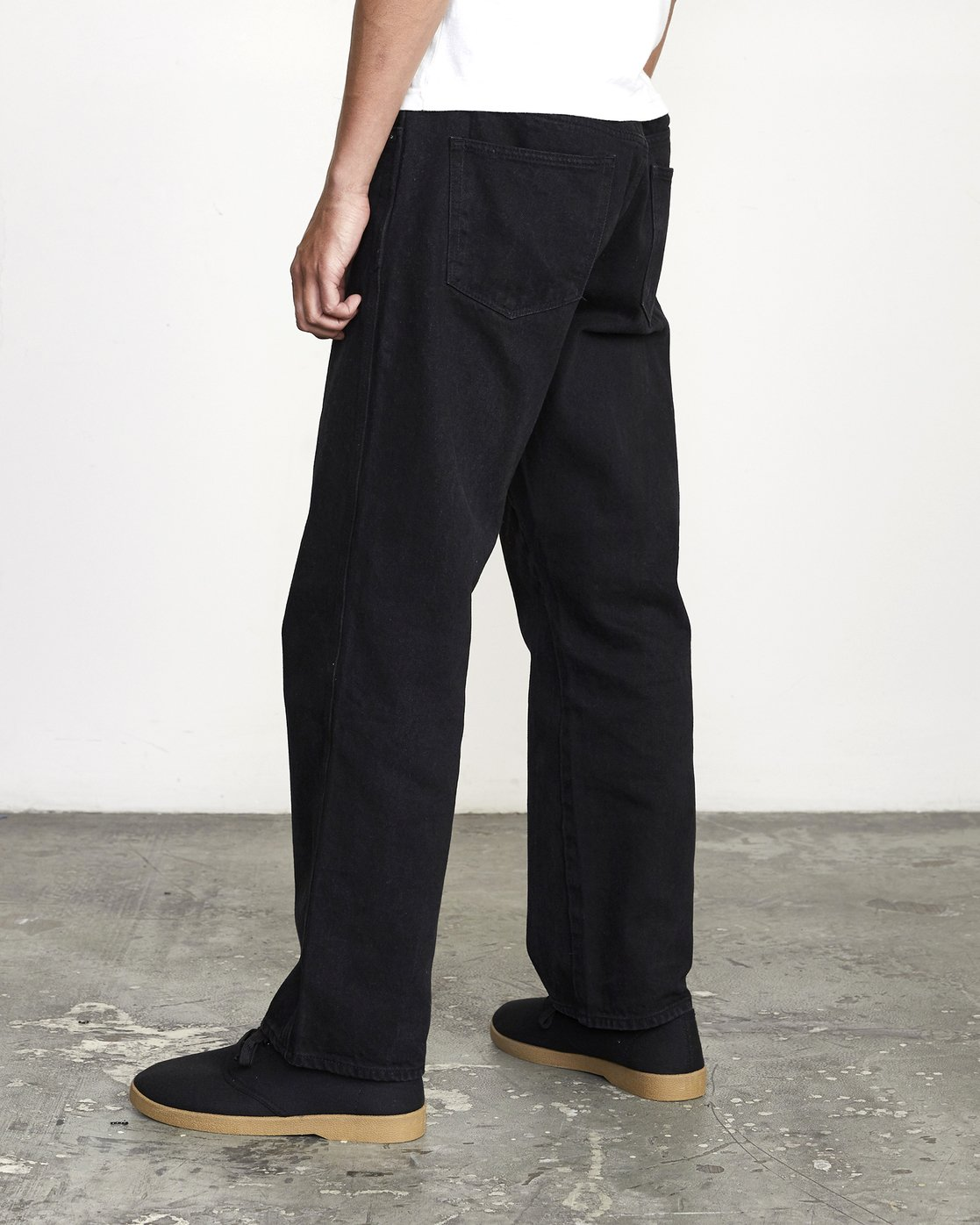 5 BAKERVCA AMERICANA RELAXED FIT DENIM Black AVYDP00100 RVCA