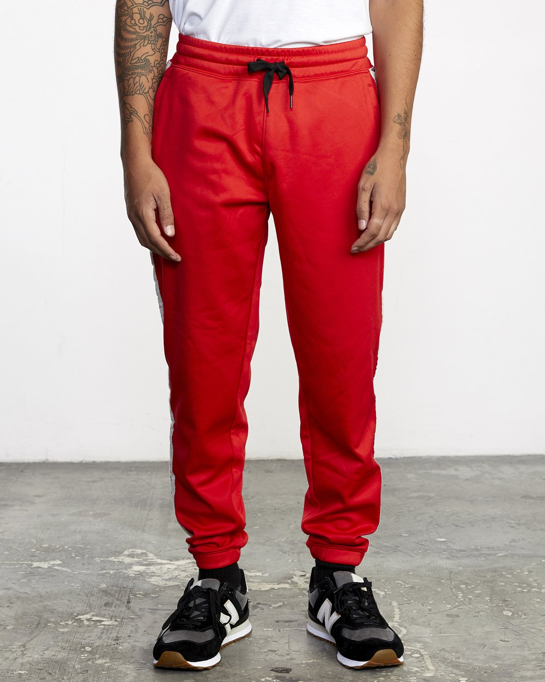 1 NORE TRACK PANT Brown AVYFB00104 RVCA