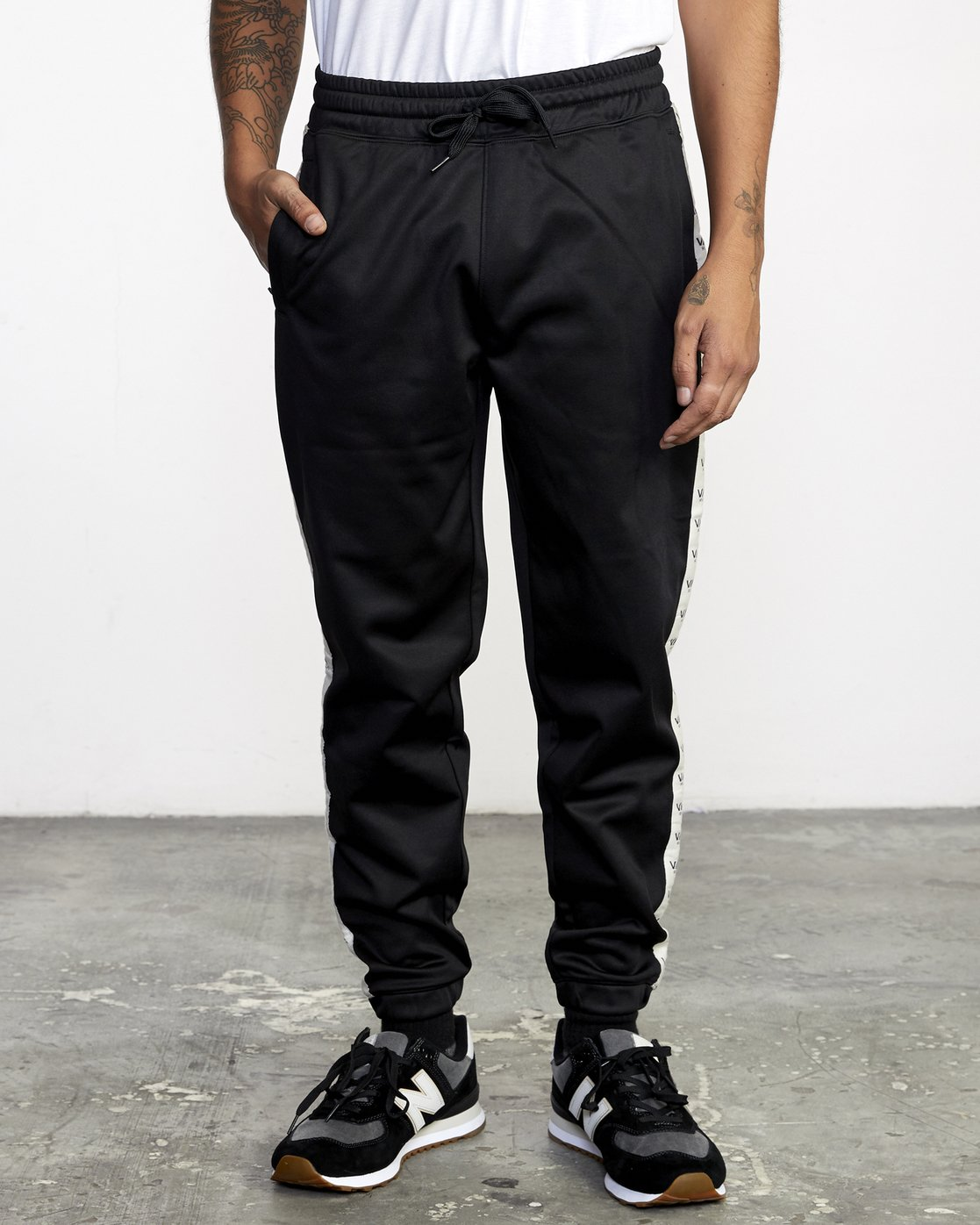 1 NORE TRACK PANT Orange AVYFB00104 RVCA
