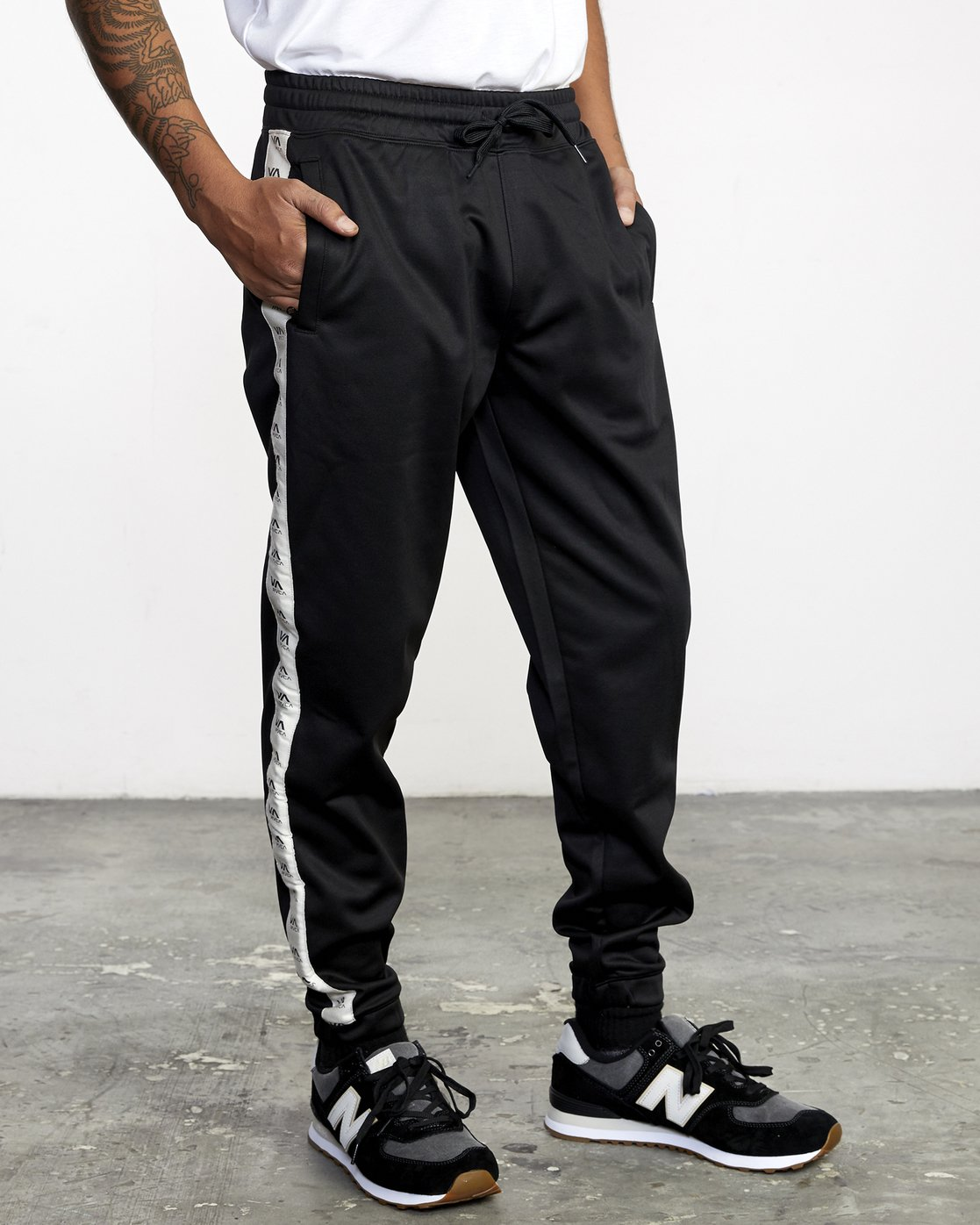 7 NORE TRACK PANT Orange AVYFB00104 RVCA