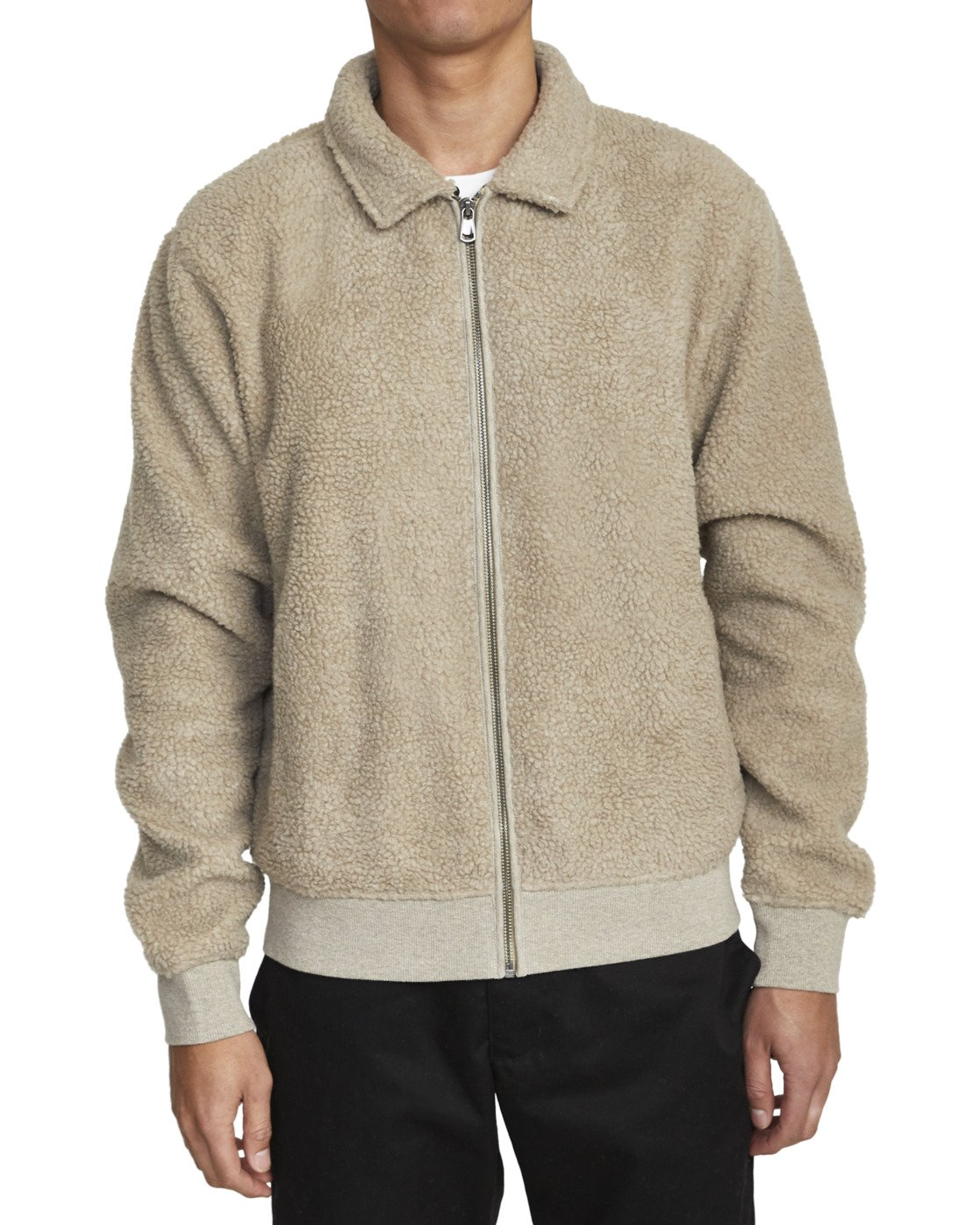 4 ERIE ZIP JACKET Beige AVYFT00110 RVCA