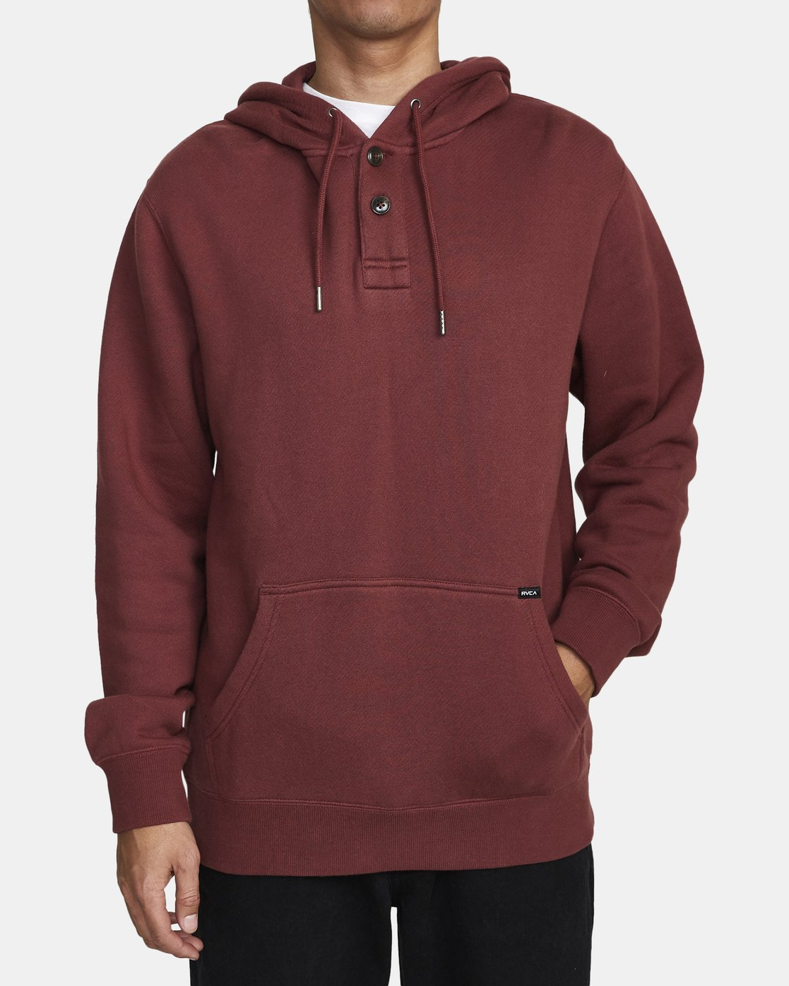 1 TORRESDALE HOODIE Red AVYFT00115 RVCA