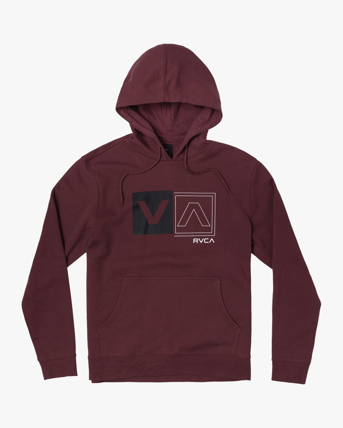 0 DIVIDED HOODIE Red AVYFT00130 RVCA