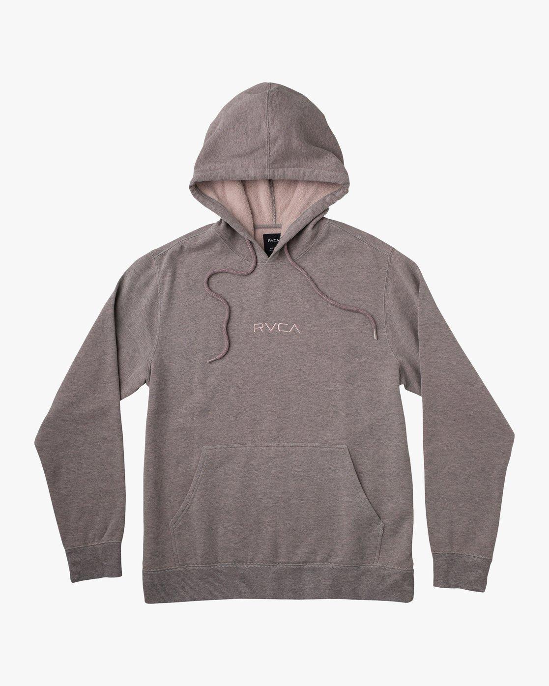 0 SHANE OVERDYE PULLOVER HOODIE Grey AVYFT00158 RVCA