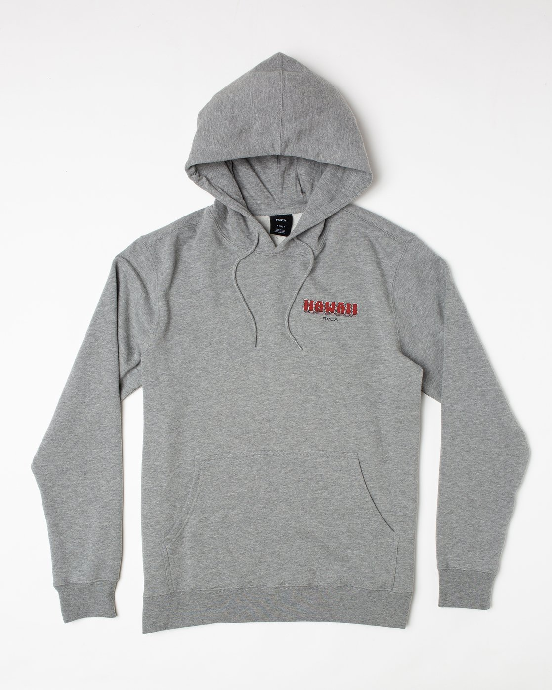 0 Welcome to Pipe PULLOVER HOODIE Red AVYFT00177 RVCA