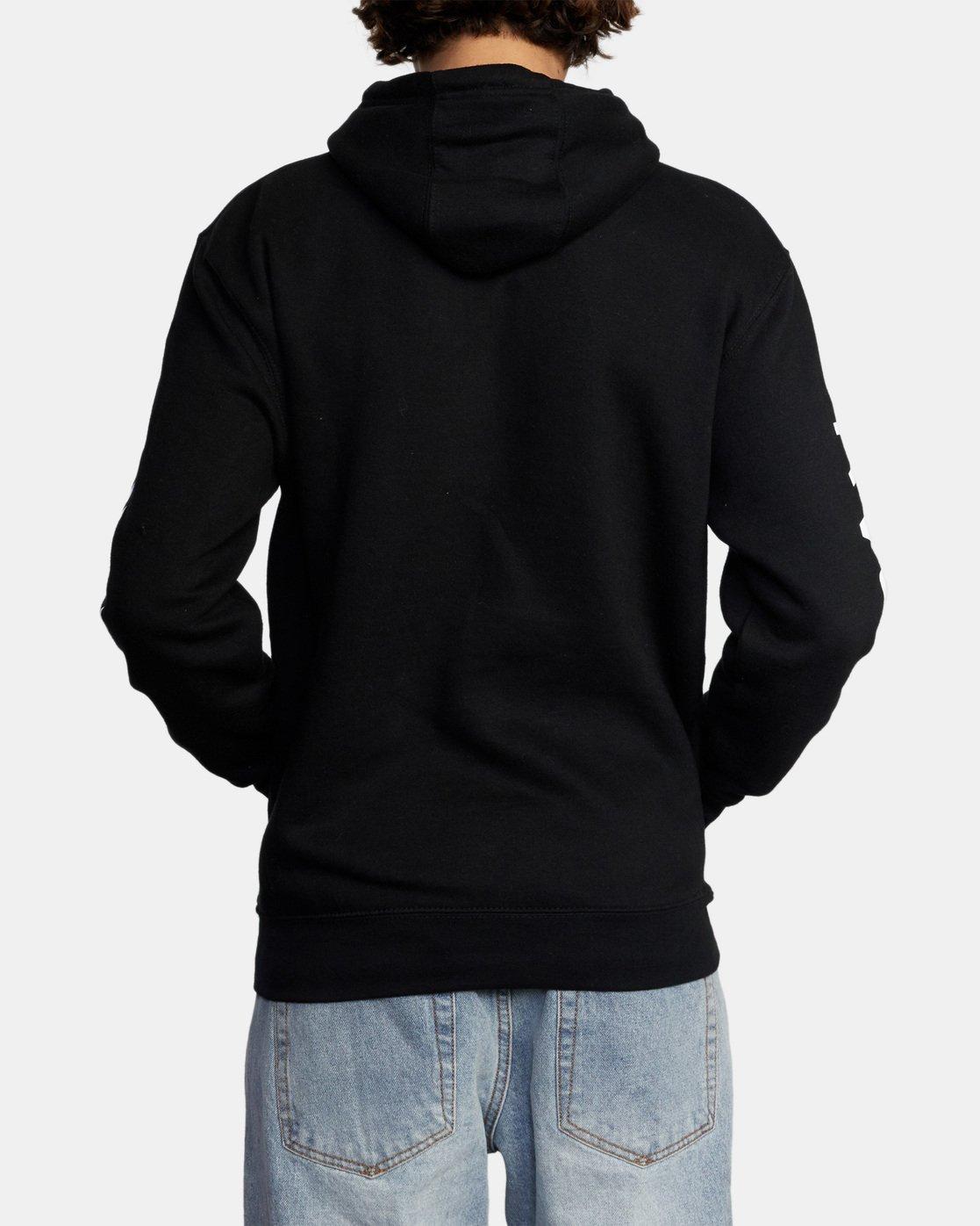 2 Gary Turner Sweatshirt Black AVYFT00229 RVCA