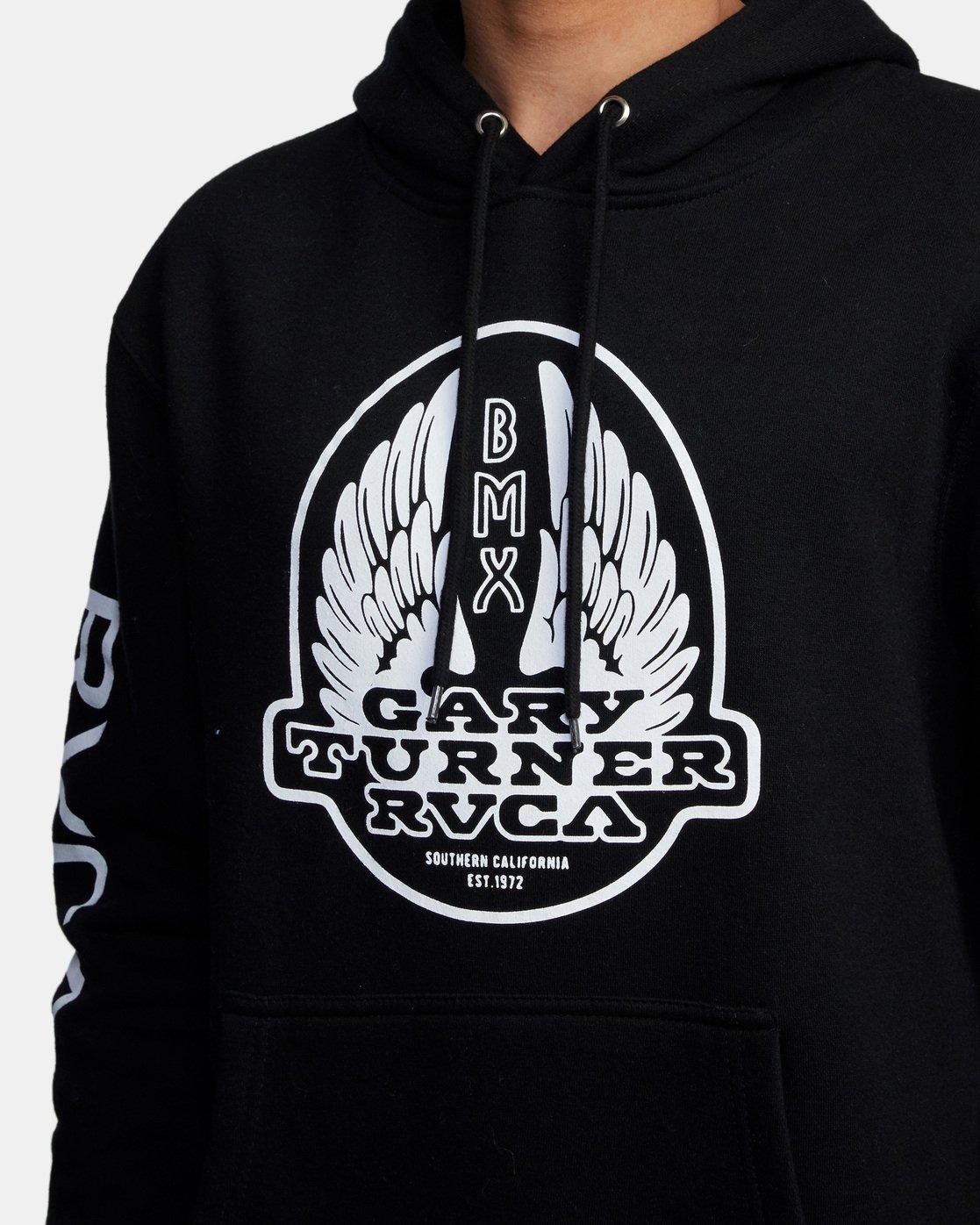 3 Gary Turner Sweatshirt Black AVYFT00229 RVCA