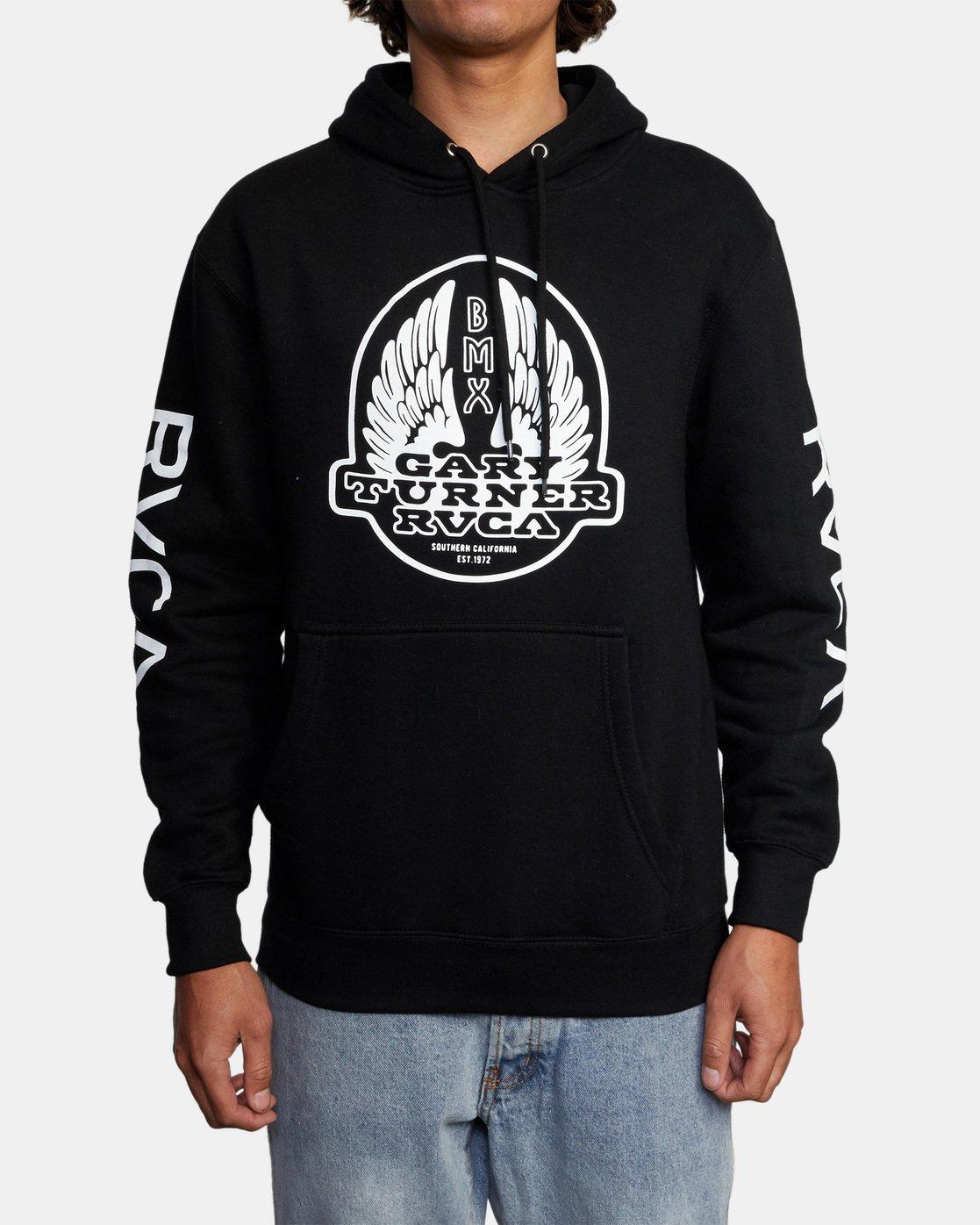 1 Gary Turner Sweatshirt Black AVYFT00229 RVCA