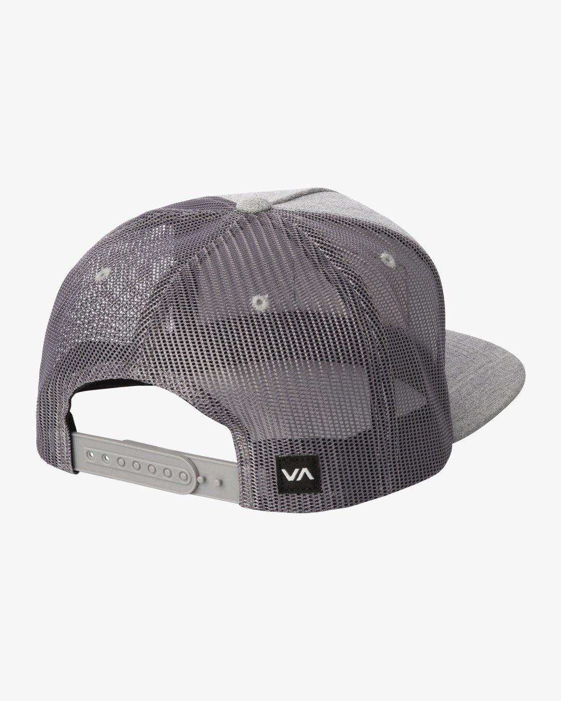 1 STROKES TRUCKER HAT Grey AVYHA00129 RVCA