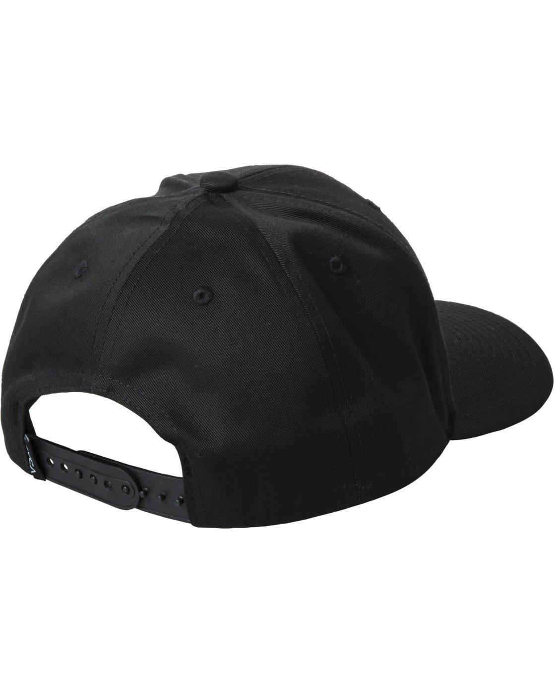 1 DAYSHIFT SNAPBACK HAT Black AVYHA00130 RVCA
