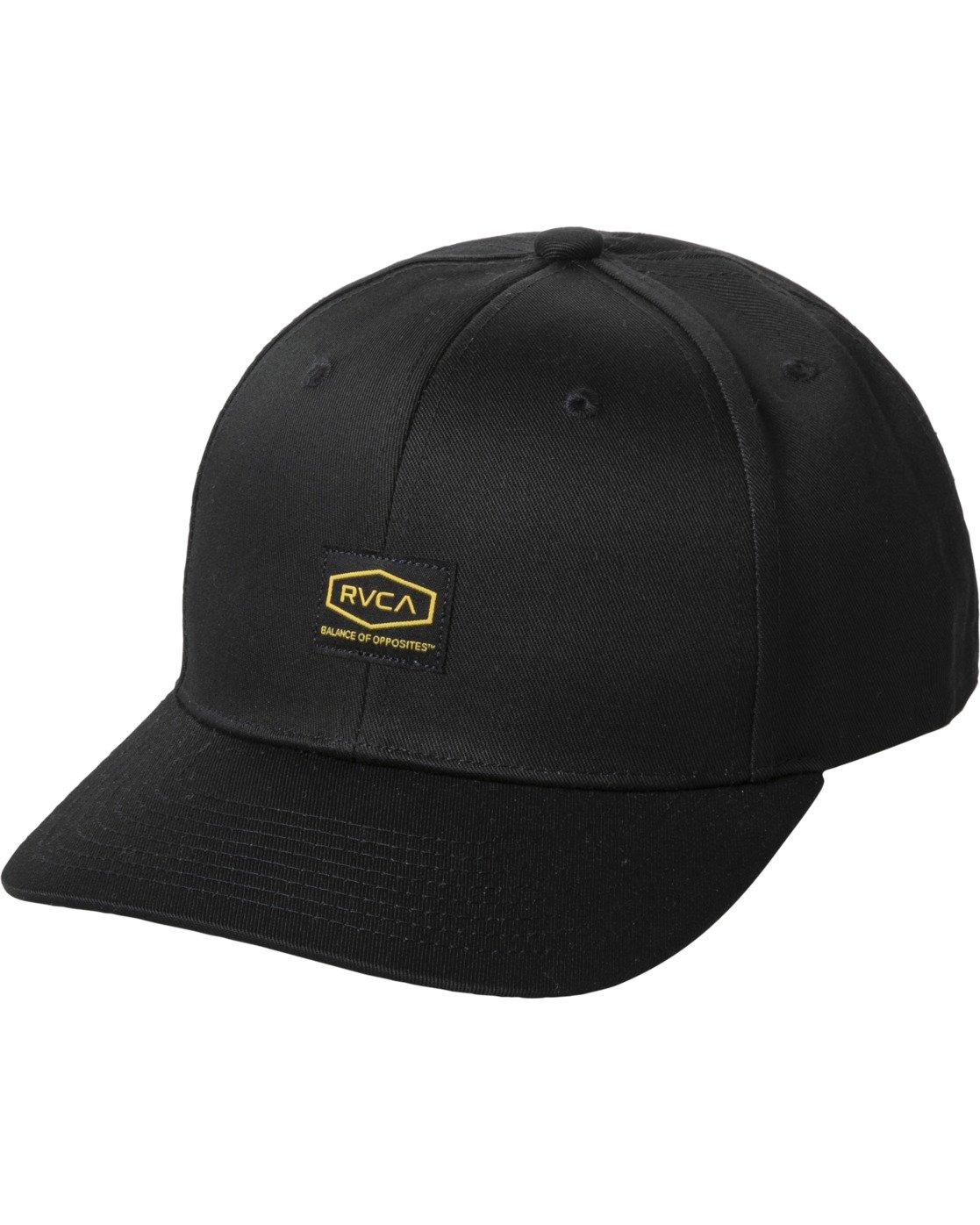 0 DAYSHIFT SNAPBACK HAT Black AVYHA00130 RVCA