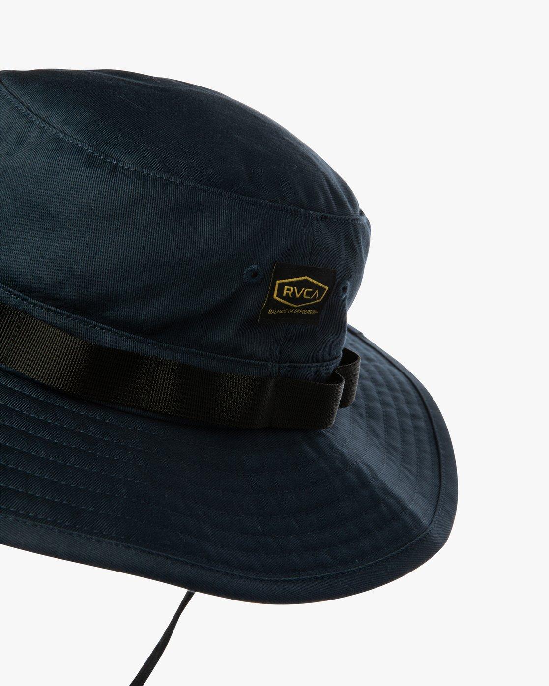 1 DAYSHIFT BOONIE HAT Blue AVYHA00138 RVCA