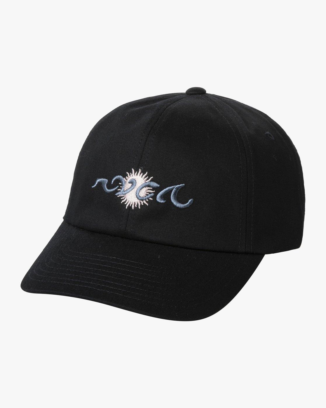 0 BILL CONNORS CAP Black AVYHA00141 RVCA