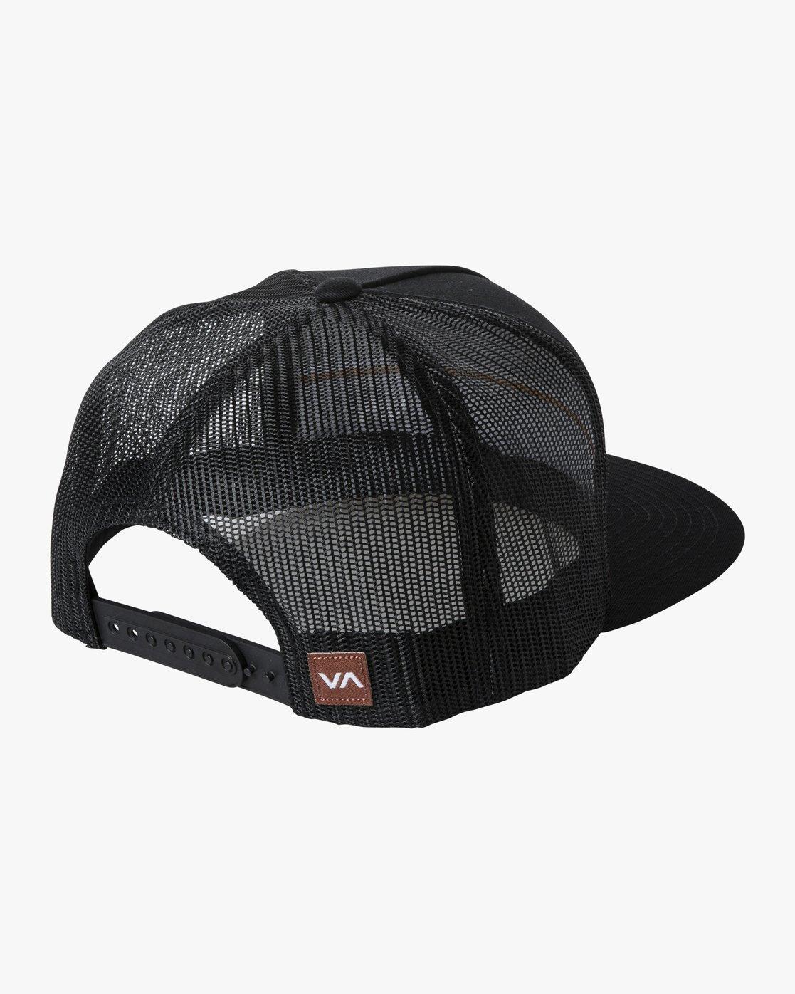 1 PIER TRUCKER HAT Black AVYHA00151 RVCA