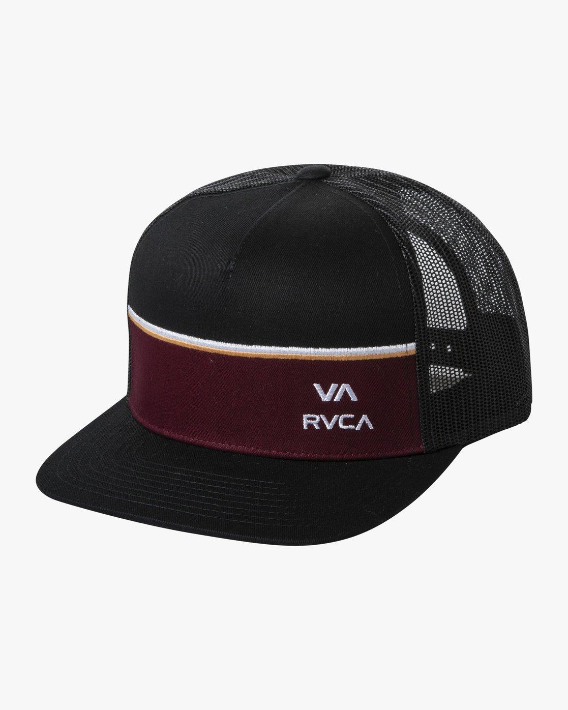 0 PIER TRUCKER HAT Black AVYHA00151 RVCA