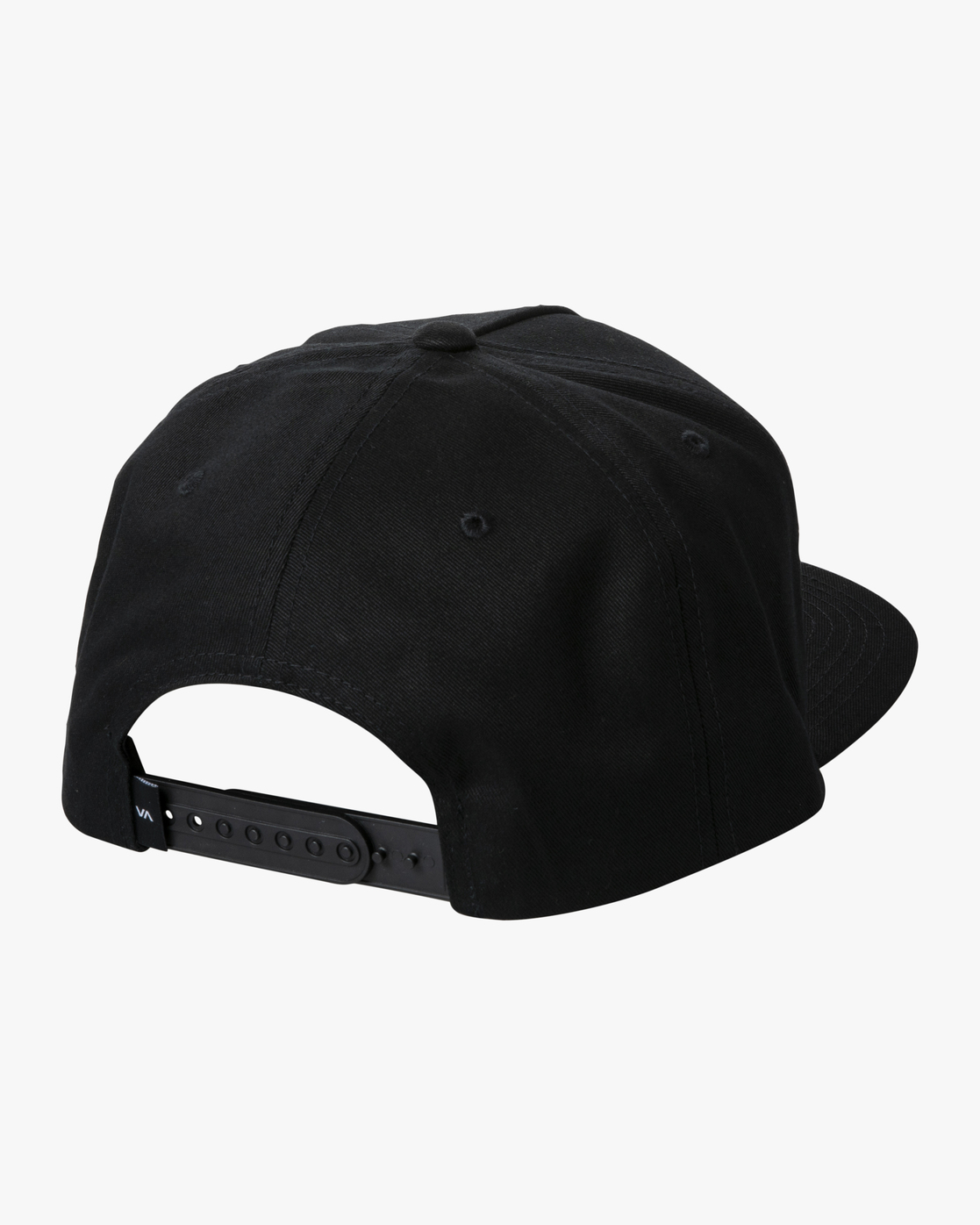 1 RVCA SQUARE SNAPBACK HAT Black AVYHA00152 RVCA