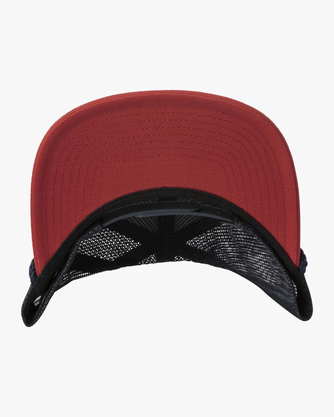 3 STAPLE FOAMY TRUCKER HAT Blue AVYHA00153 RVCA