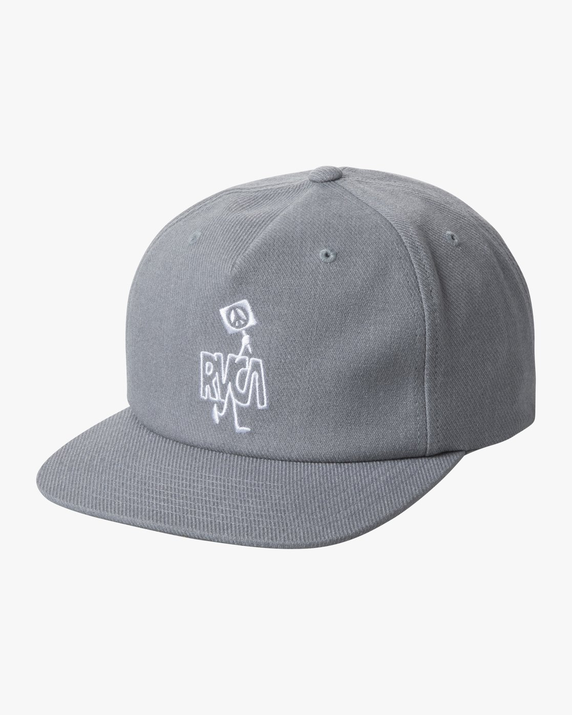 0 STRIKE SNAPBACK HAT Grey AVYHA00155 RVCA