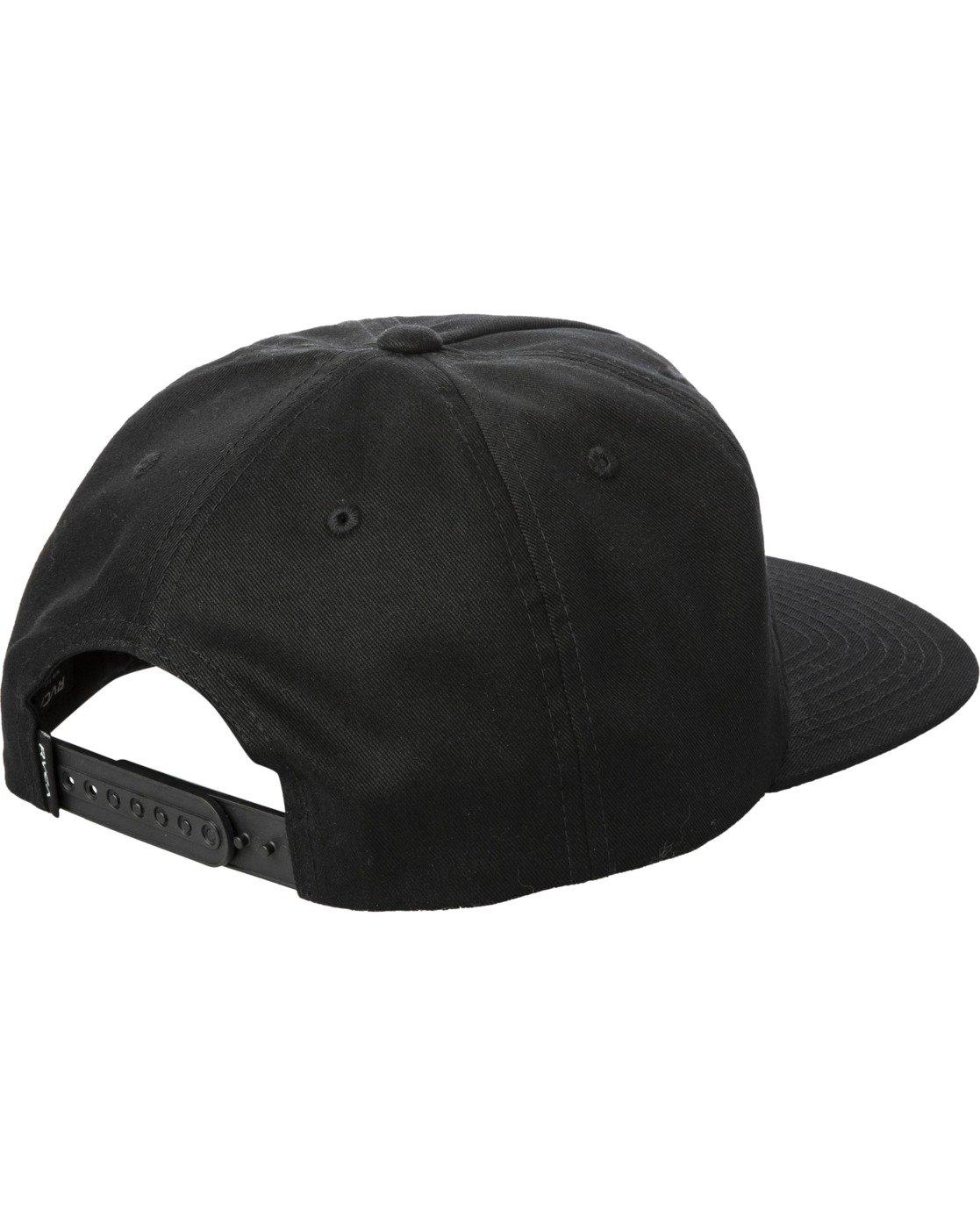 2 Dusk Til Dawn Snapback Hat Black AVYHA00176 RVCA