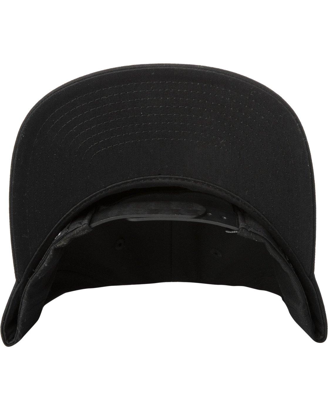 4 Dusk Til Dawn Snapback Hat Black AVYHA00176 RVCA