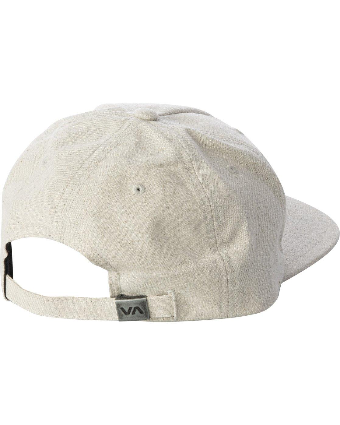 2 MAIN SNAPBACK HAT White AVYHA00184 RVCA