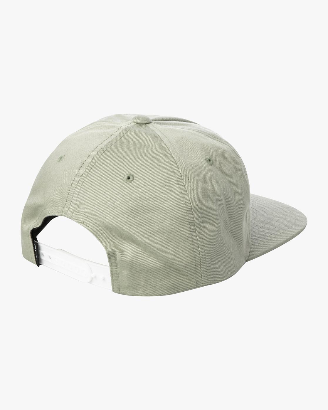 1 MAIN SNAPBACK HAT White AVYHA00184 RVCA