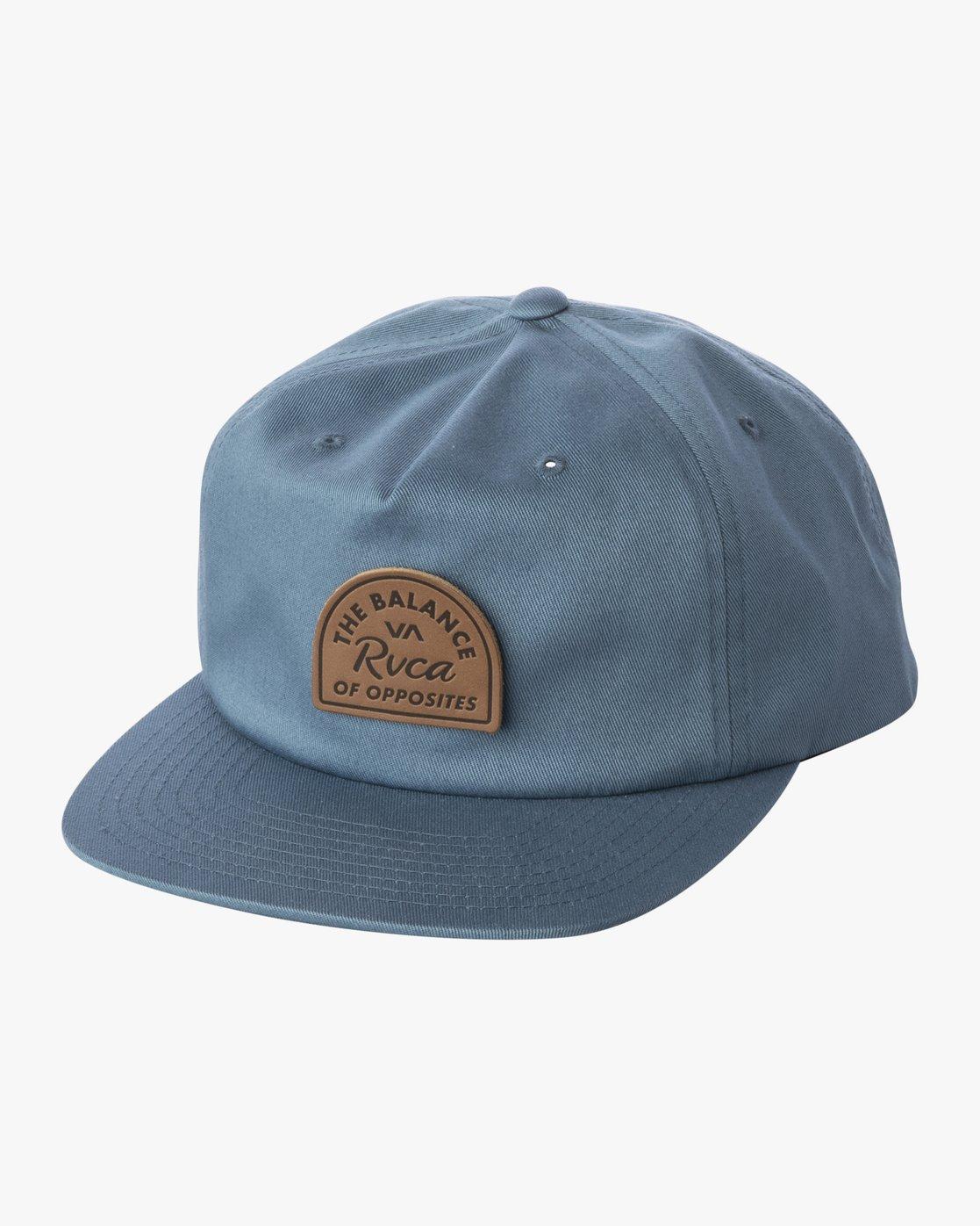 0 MAIN SNAPBACK HAT Grey AVYHA00184 RVCA
