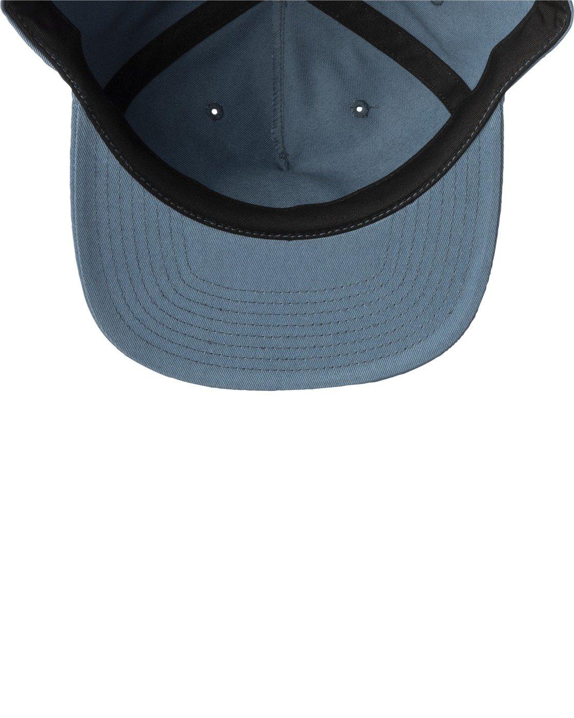 3 MAIN SNAPBACK HAT Grey AVYHA00184 RVCA
