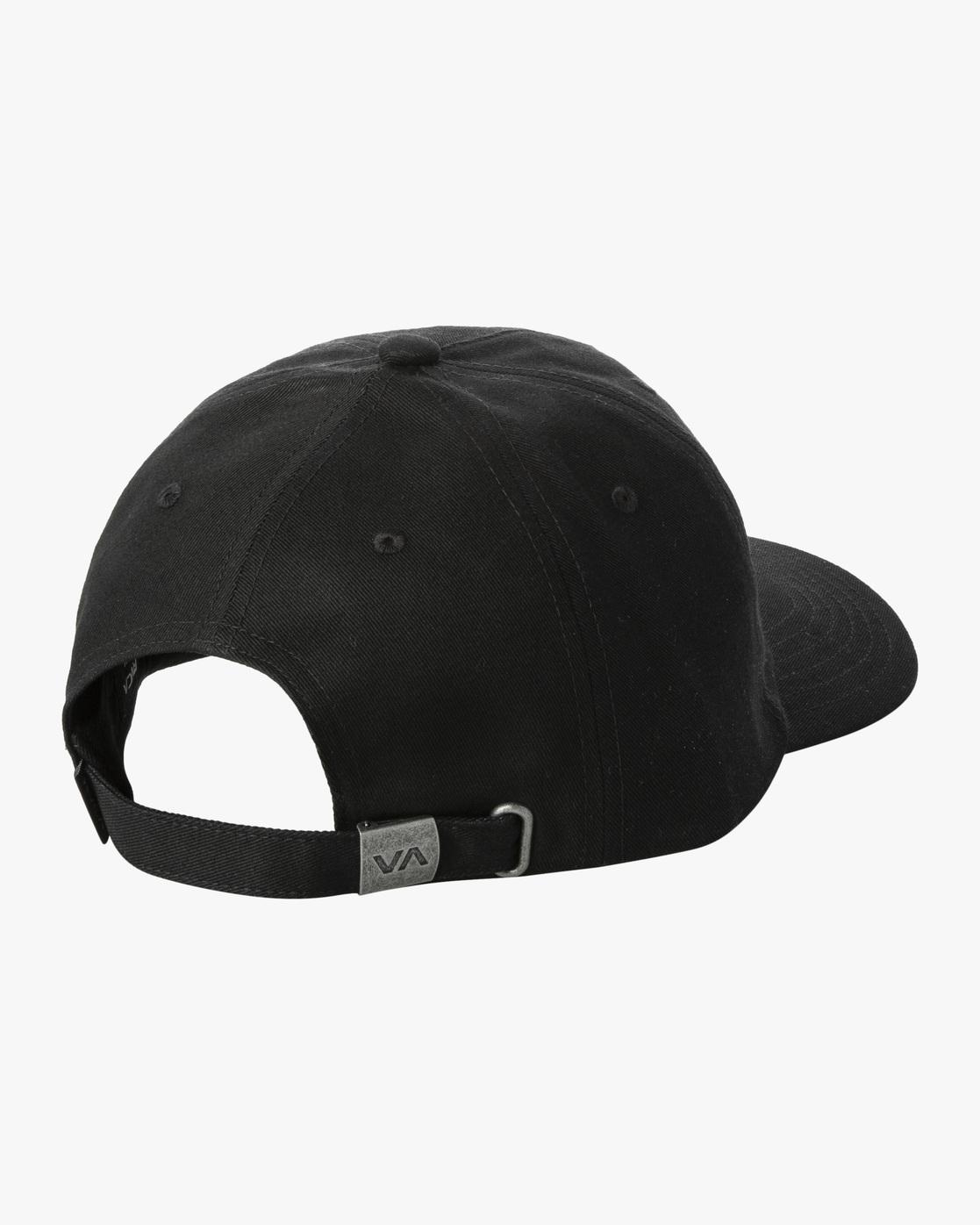 1 Trippy Dana Claspback Hat Black AVYHA00193 RVCA