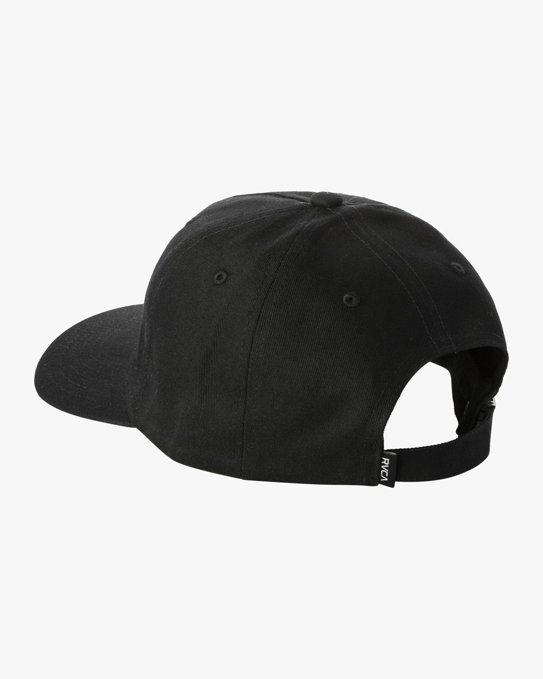 2 Trippy Dana Claspback Hat Black AVYHA00193 RVCA