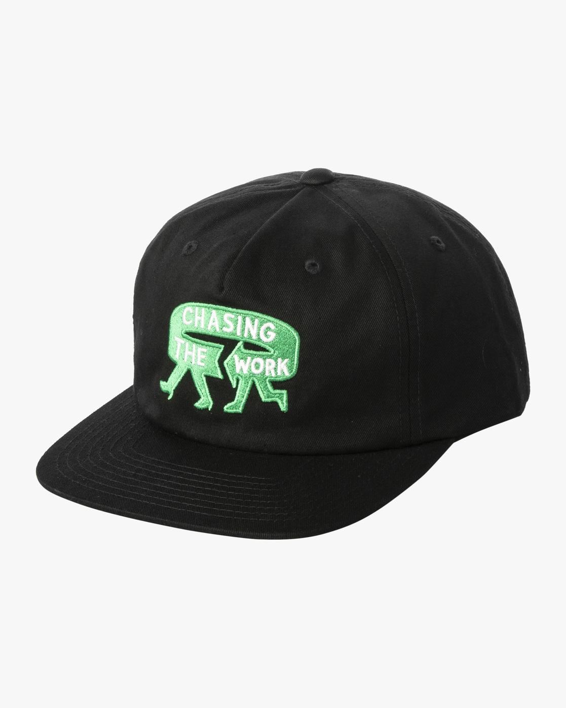 0 Espo Snapback Hat Black AVYHA00216 RVCA