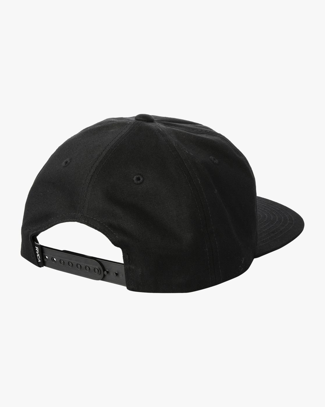 1 Espo Snapback Hat Black AVYHA00216 RVCA