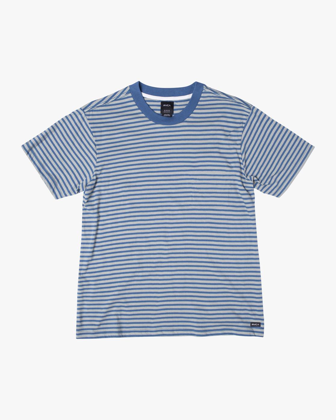 0 Pit Stop Short Sleeve Tee Blue AVYKT00148 RVCA