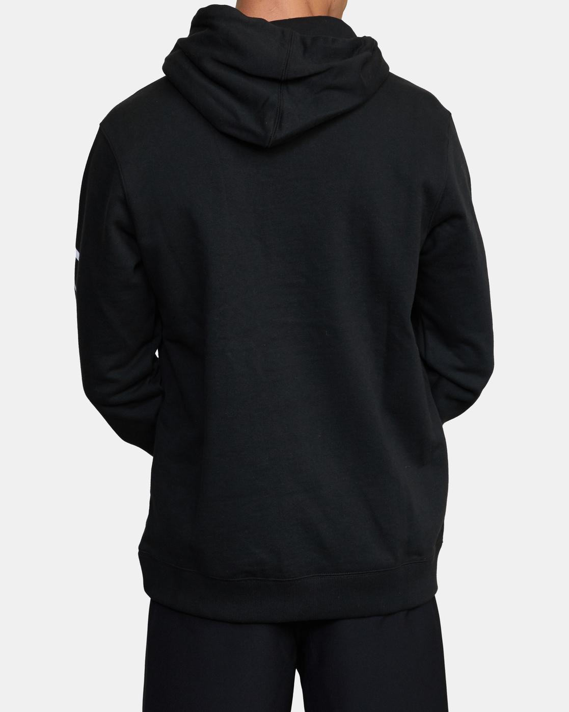 2 Parillo Boxing Club Pullover Sweatshirt Black AVYSF00105 RVCA
