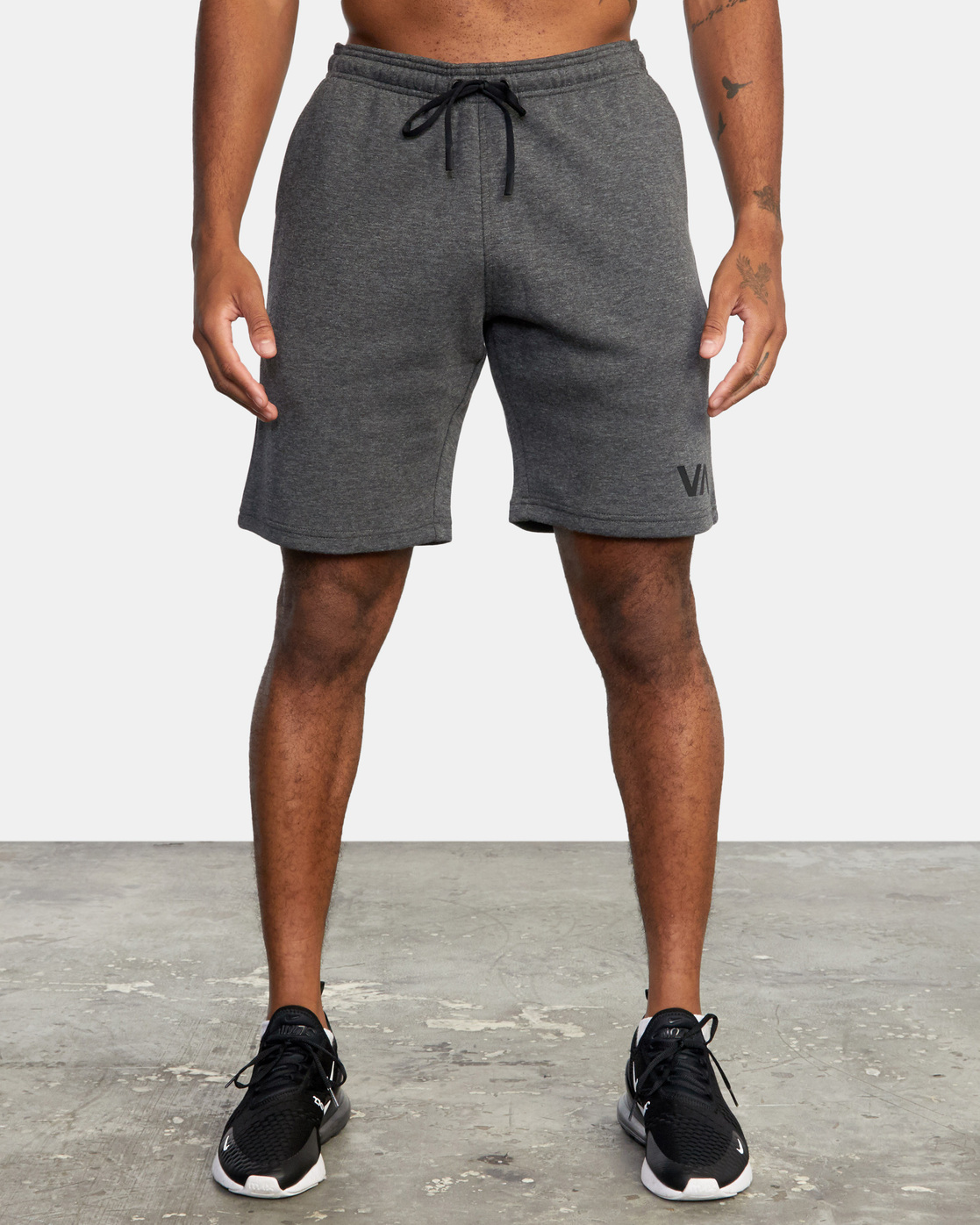 "1 VA SPORT IV 19"" SWEAT SHORT Grey AVYWS00135 RVCA"