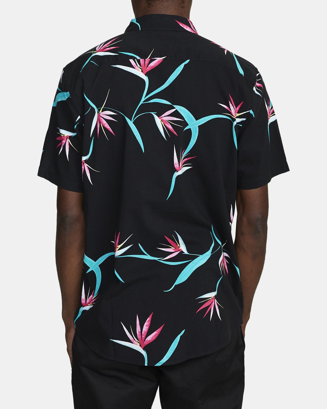 3 DREAM LAGOON SHORT SLEEVE SHIRT Black AVYWT00106 RVCA