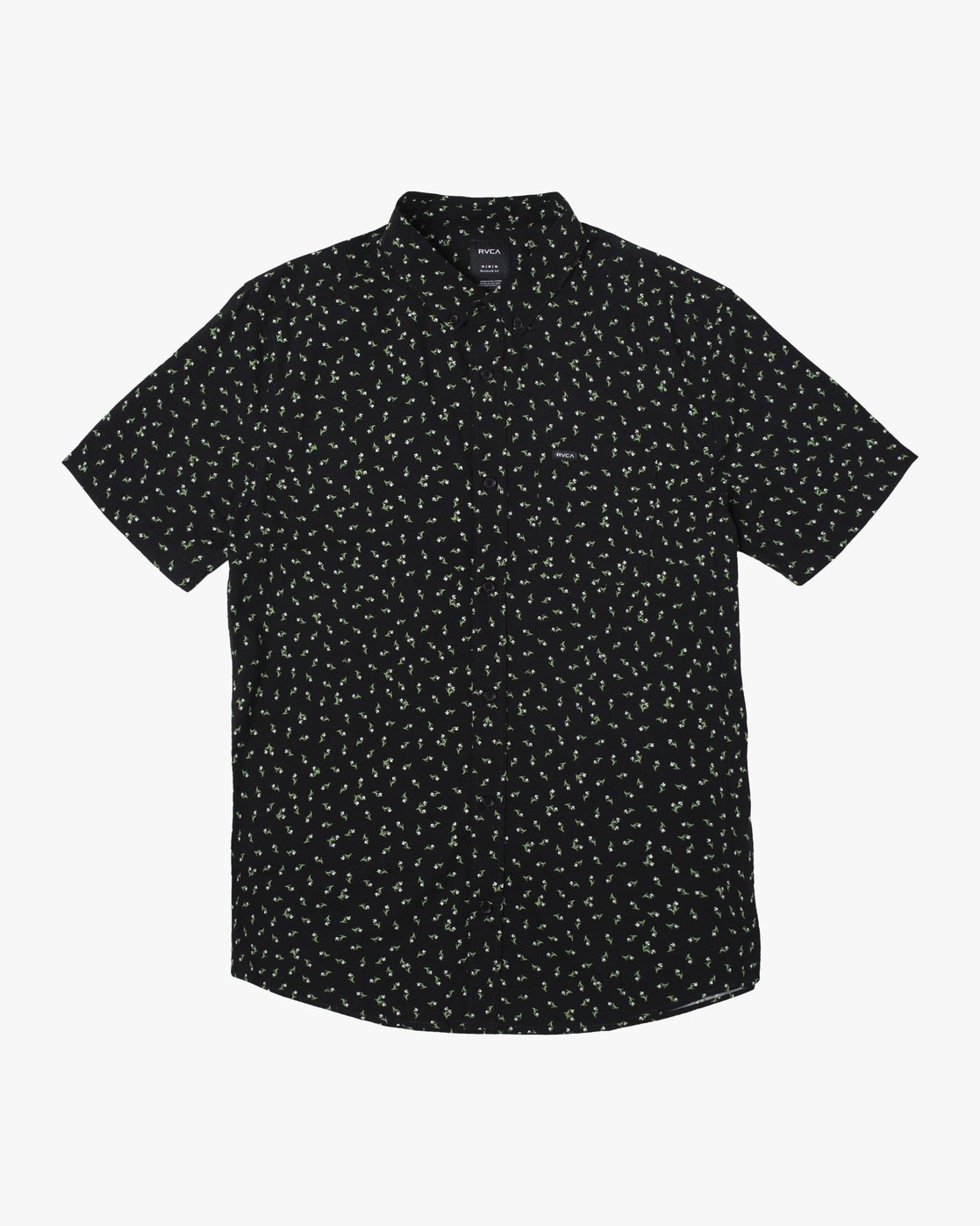 1 SCATTERED SHORT SLEEVE SHIRT Black AVYWT00110 RVCA