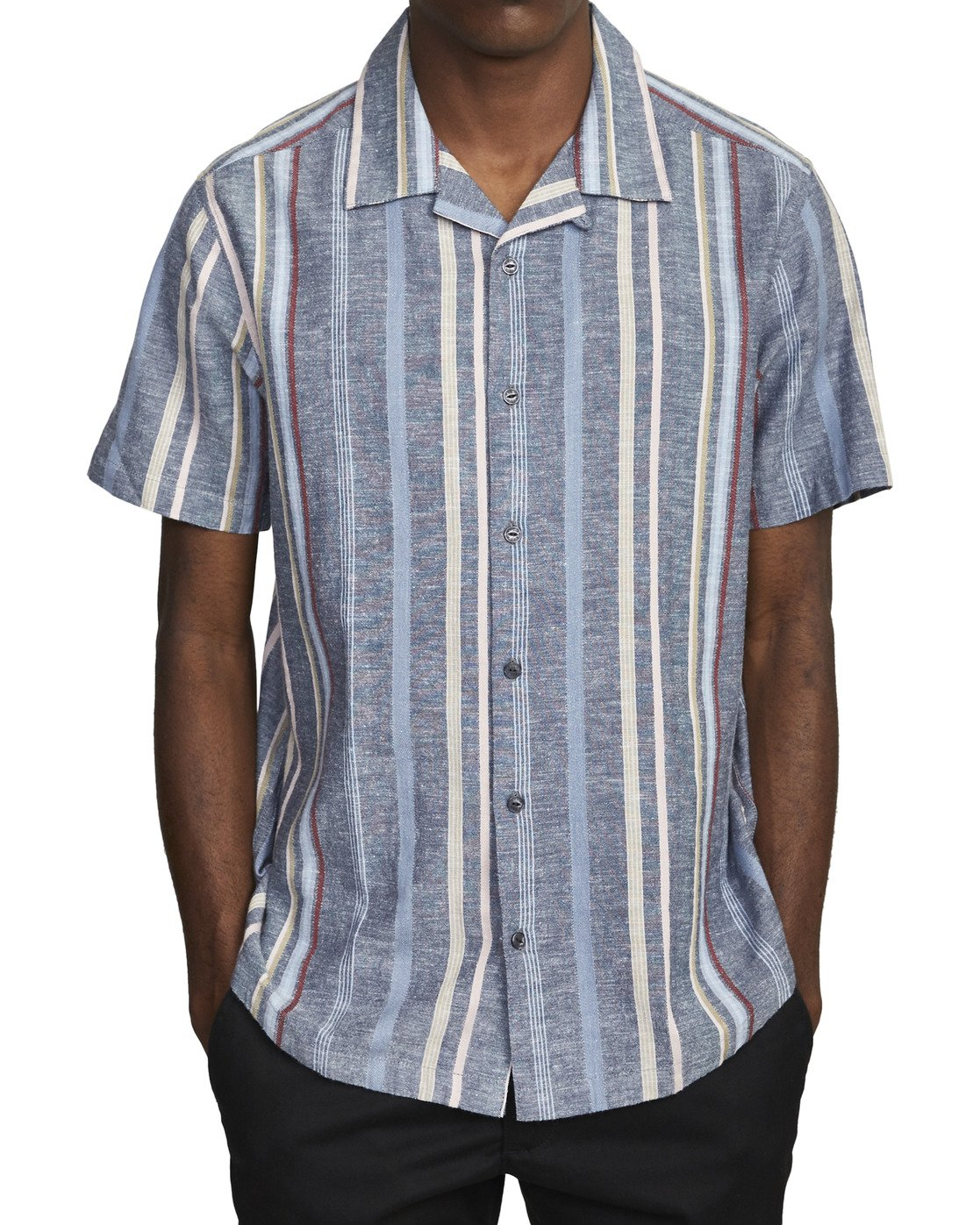 1 REPITITION SHORT SLEEVE SHIRT  AVYWT00130 RVCA